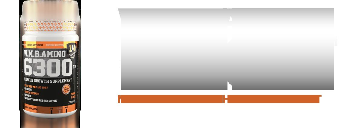 Amino 6300 (350 kapszula)