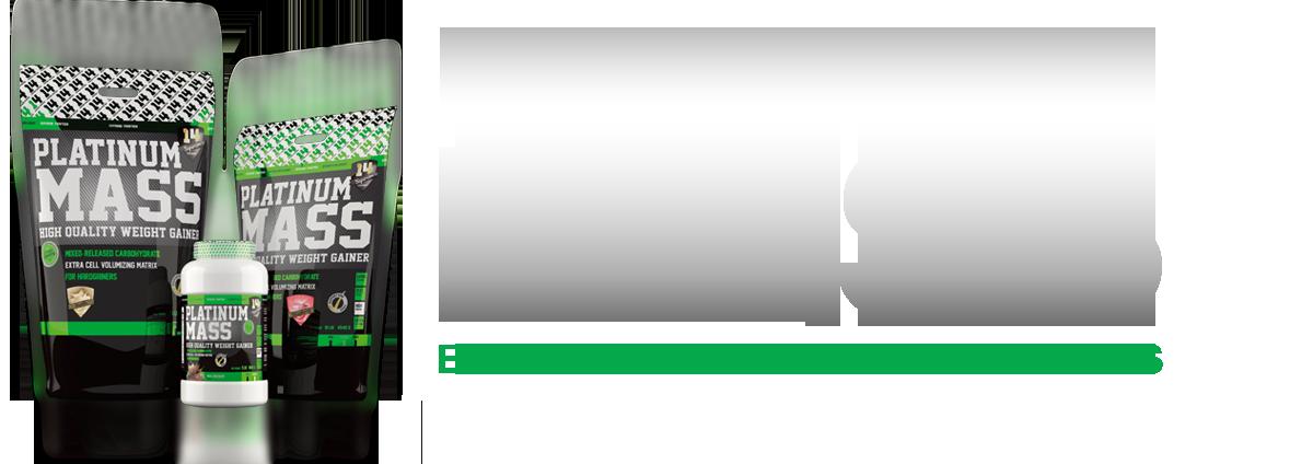 Platinum Mass (1 kg.) Csoki, Vanilia, Eper