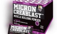 MICRON CREABLAST - MUSCLE BUILDING POWDER - 30 x 15 G